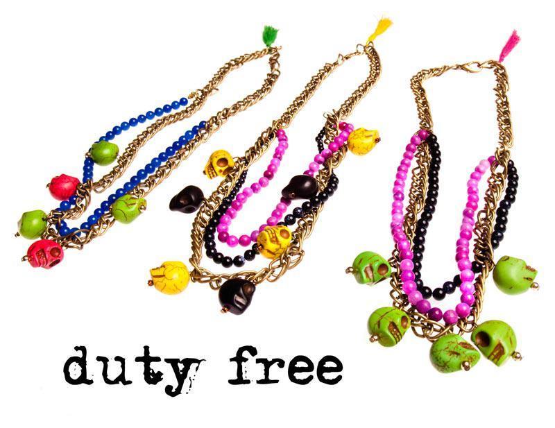Duty Free, biżuteria