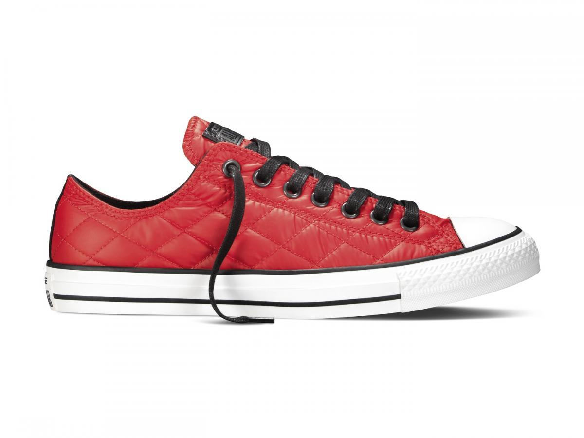 ce3636a1413b4 czerwone trampki Converse pikowane - Nowa kolekcja Converse All Star ...