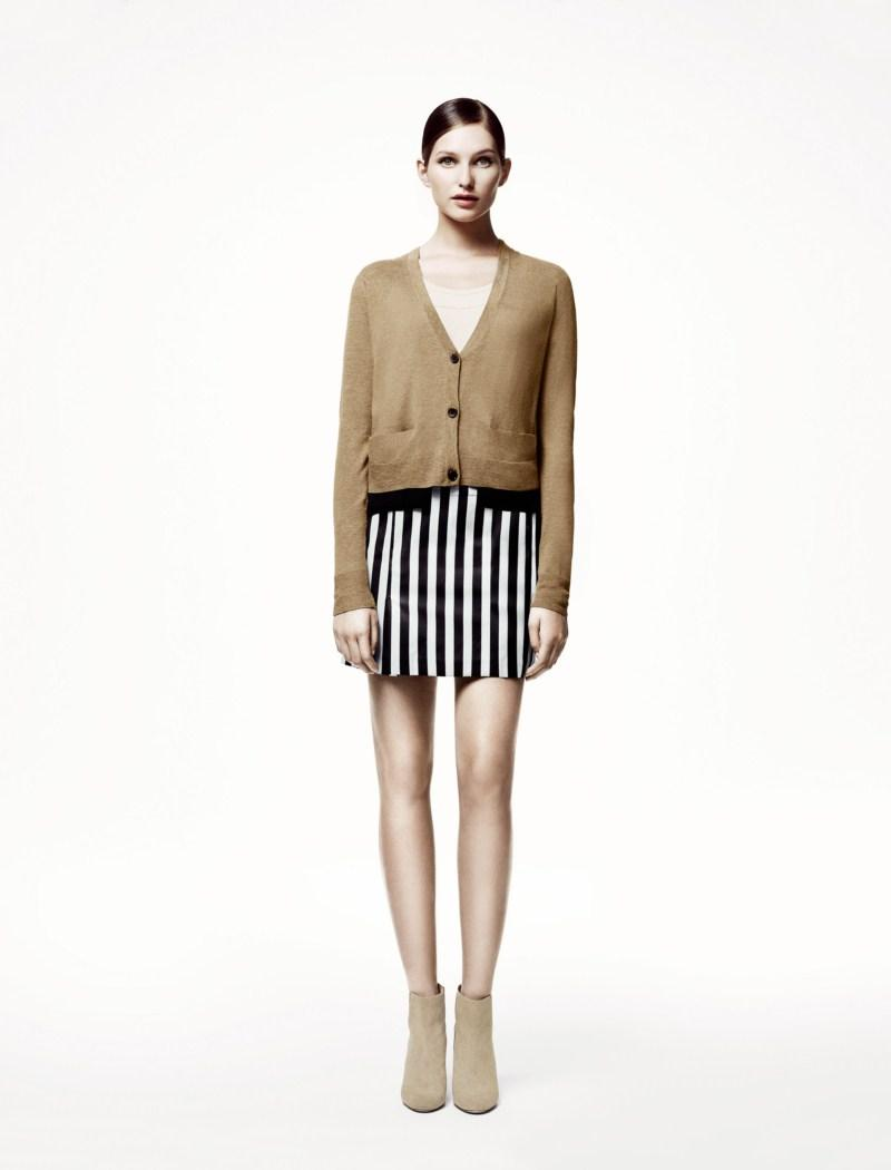 beżowy sweter H&M - wiosna/lato 2011