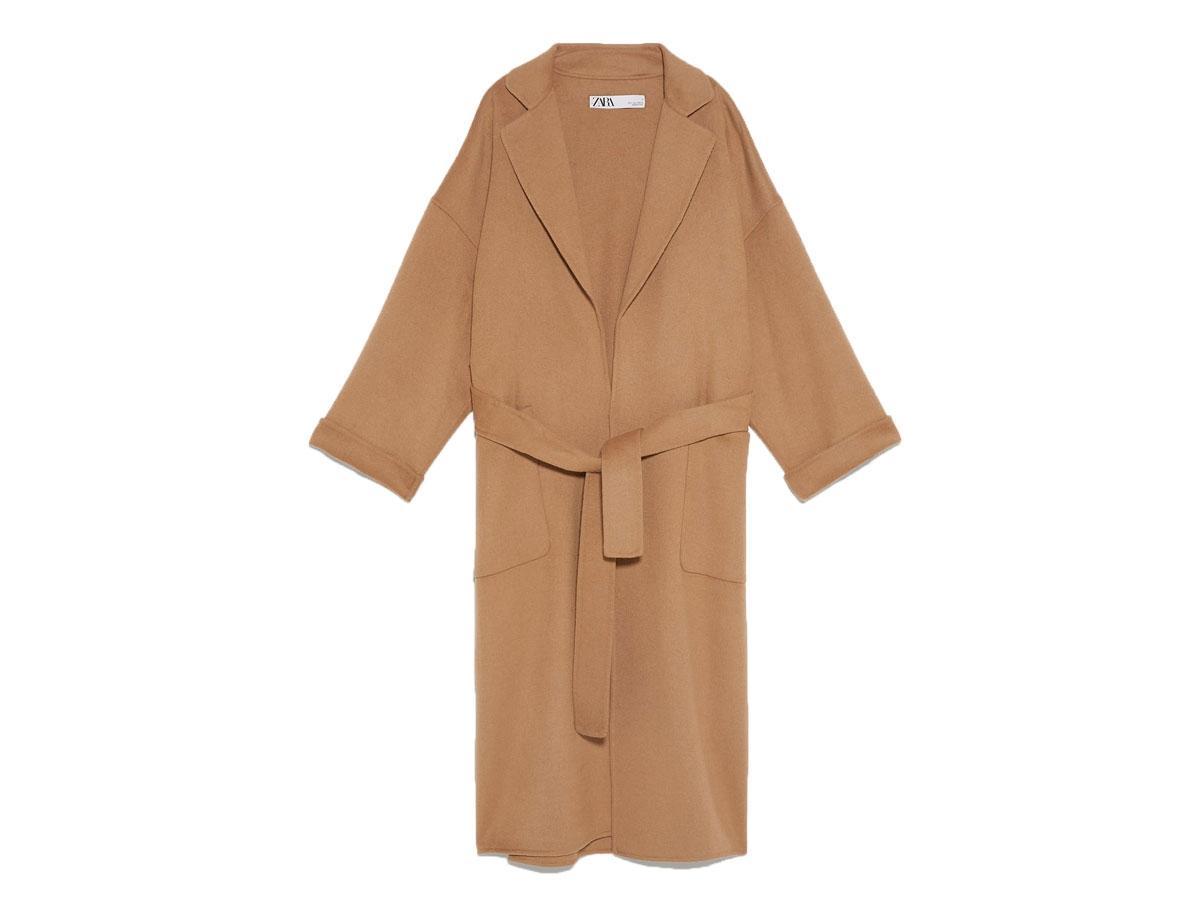 Płaszcz o pudełkowym kroju, Zara, cena ok. 499,00 zł