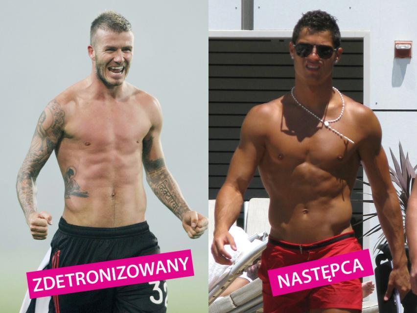 David Beckham, Cristiano Ronaldo
