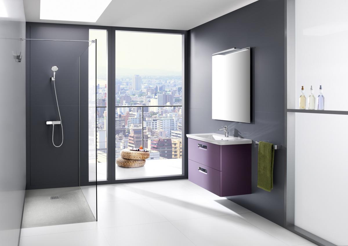 Wyjątkowa umywalka w zabudowie -inspiracje od Roca