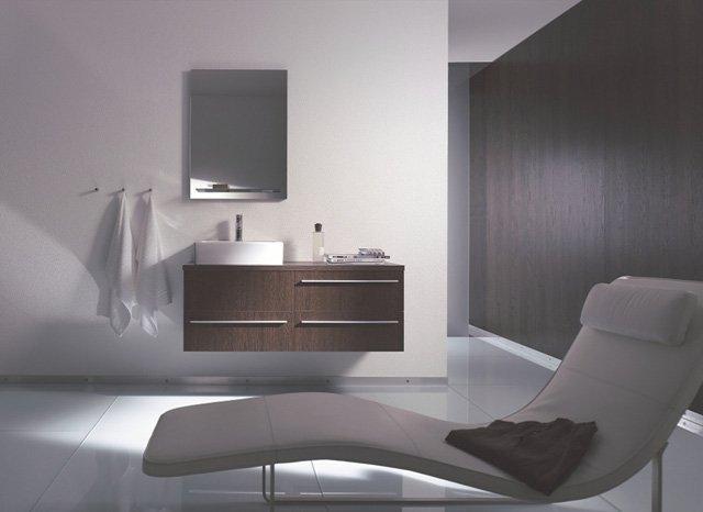 Luksusowe Meble łazienkowe W Kolorze Ciemnego Brązu Inspiracje Od