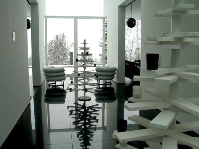 Nowoczesne wnętrze na święta - zdjęcie