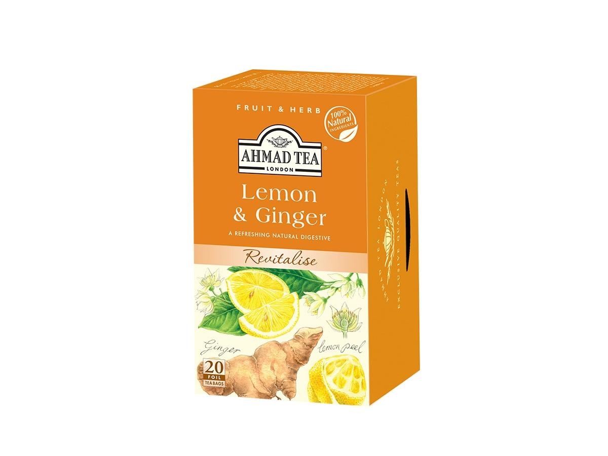 Ahmad tea, Lemon and Ginger, cena