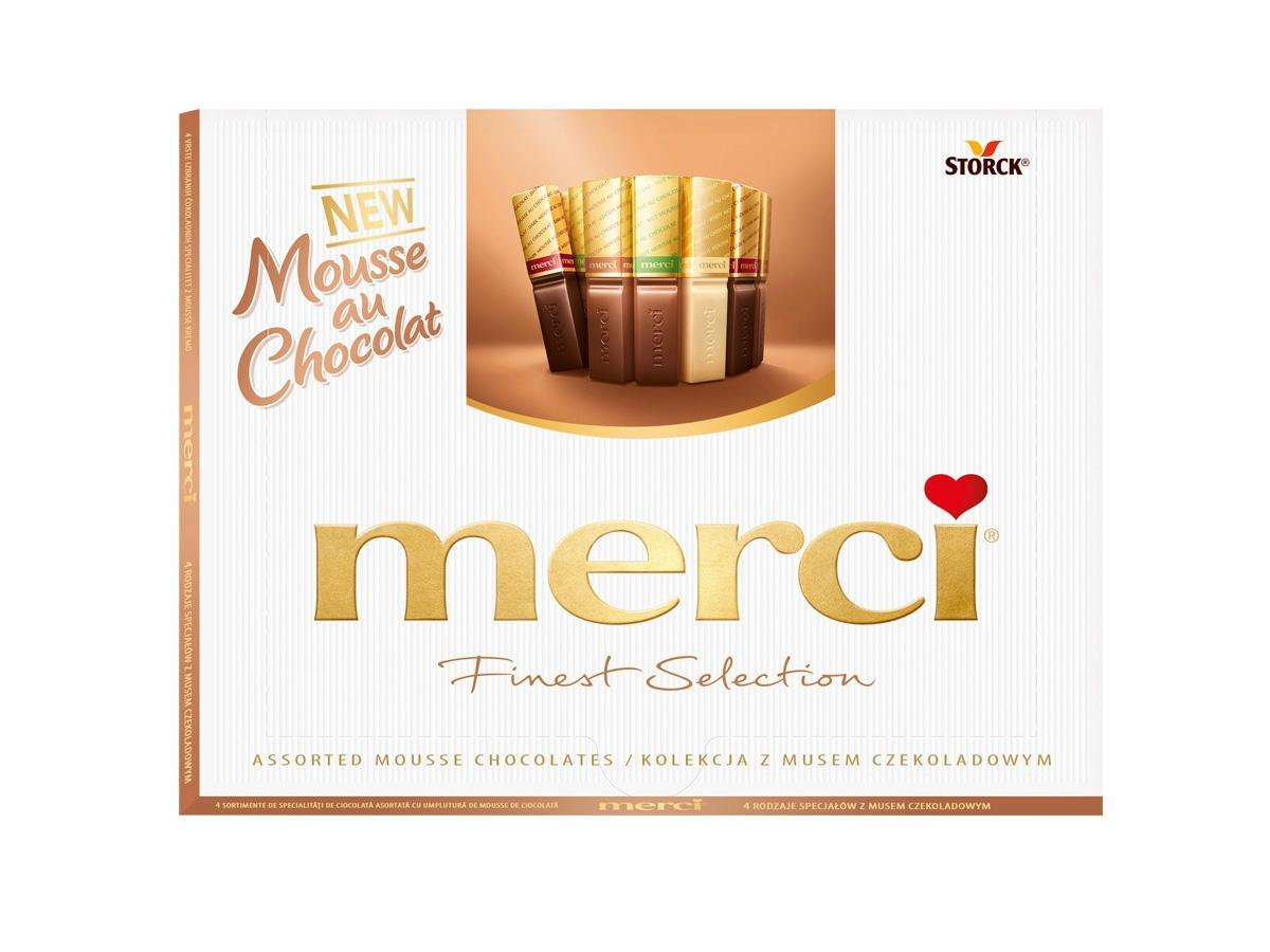Merci Mousse au Chocolat, Storck, cena
