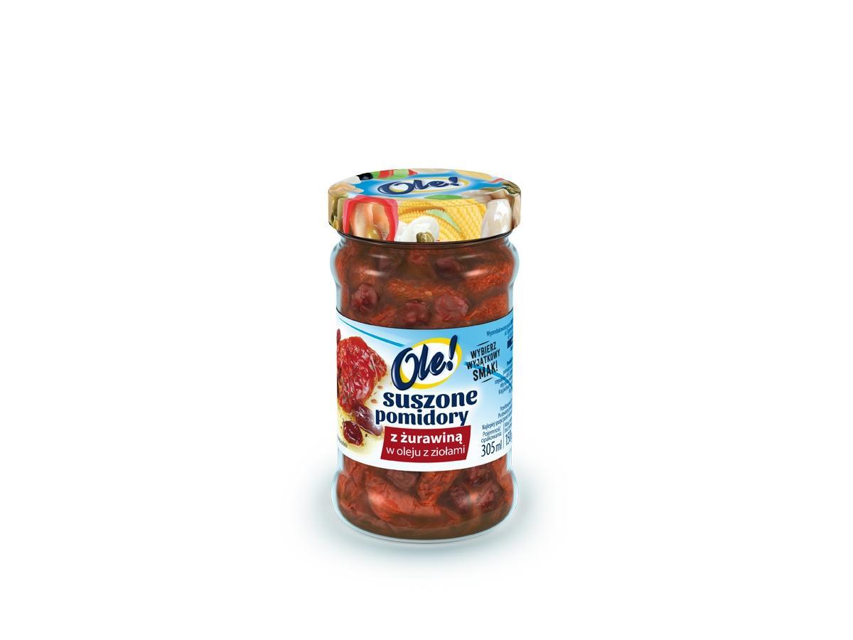 Suszone pomidory z żurawiną, Ole!, cena