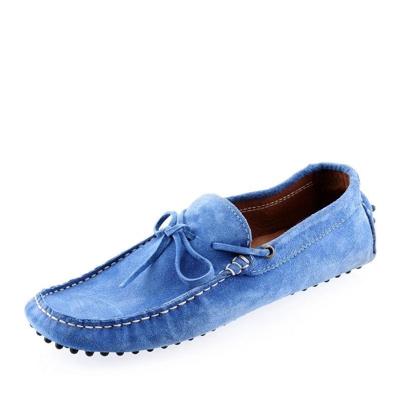 295db54e5f934 niebieskie mokasyny Prima Moda zamszowe - wiosna/lato 2012 - Obuwie ...