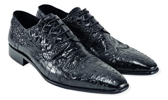 czarne pantofle Venezia - z kolekcji wiosna-lato 2011