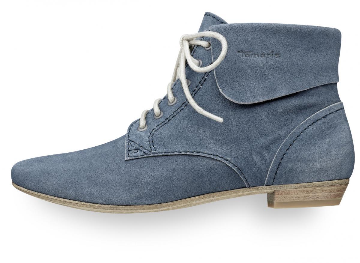 niebieskie sandałki Tamaris - moda 2011