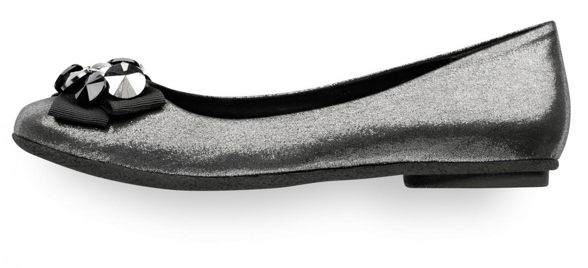srebrne baleriny Tamaris - moda 2011