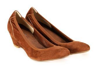 brązowe pantofle Venezia - moda wiosna/lato