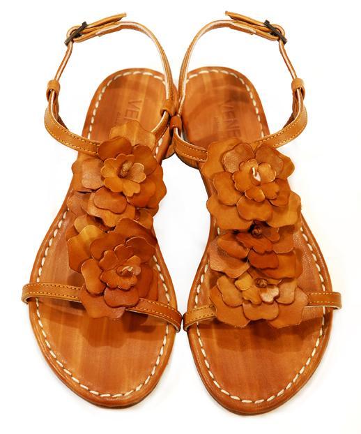 brązowe sandały Venezia - lato 2011