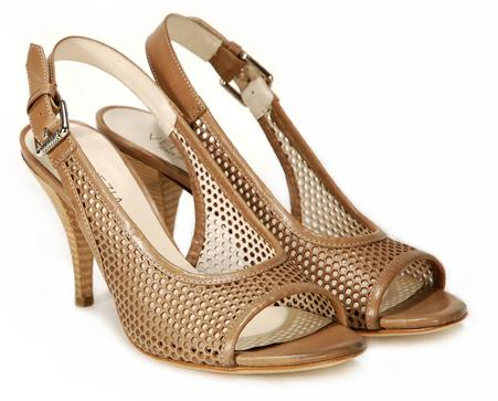 brązowe pantofle Venezia - kolekcja wiosenno/letnia