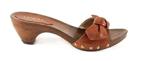 brązowe klapki Venezia - kolekcja letnia