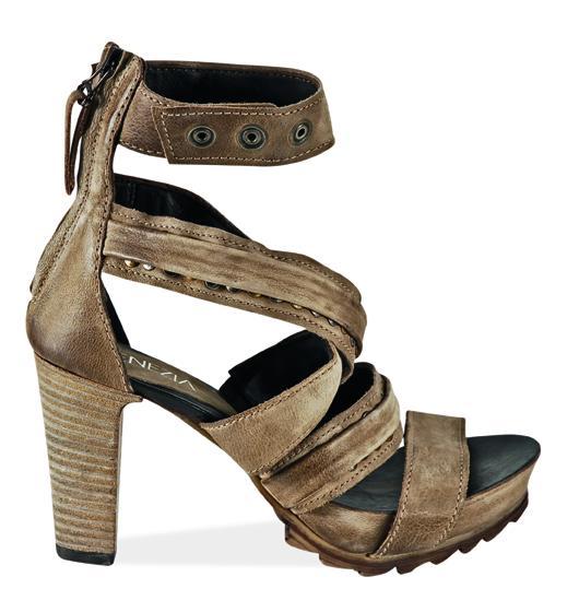 brązowe sandały Venezia - kolekcja wiosenno/letnia
