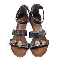 brązowe sandały Venezia - z kolekcji wiosna-lato 2011
