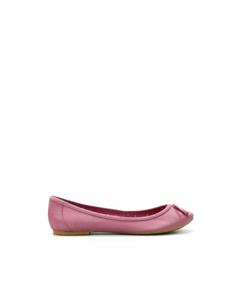 różowe baleriny ZARA - moda 2011