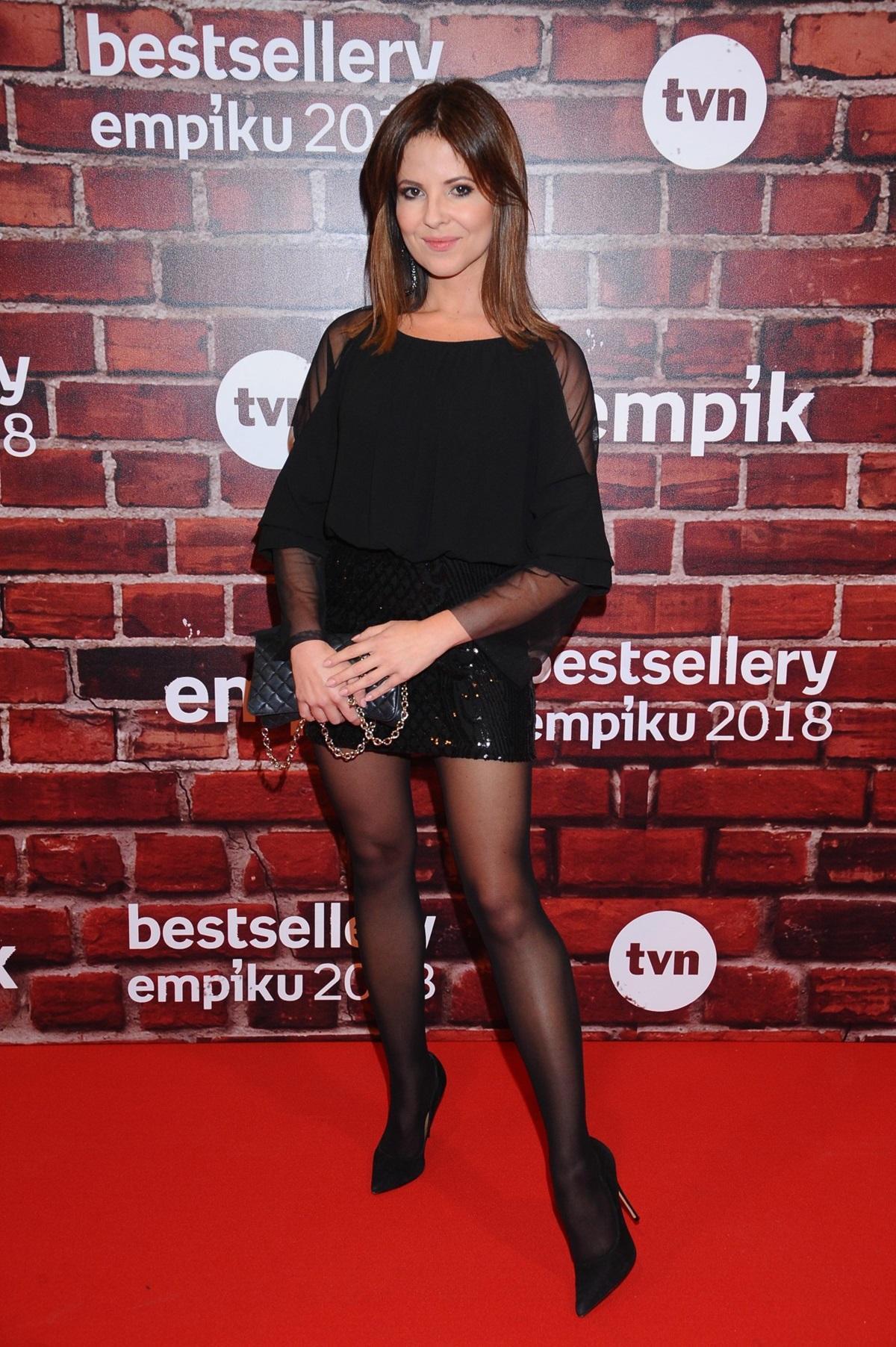 Paulina Koziejowska na gali Bestsellery Empiku 2018