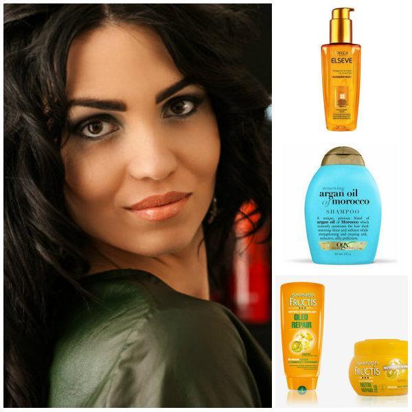 Olejki i kosmetyki z olejkami do suchych włosów