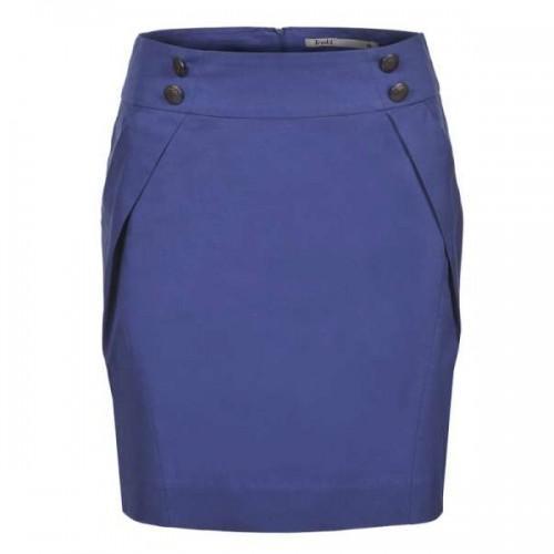 niebieska spódnica Troll ołówkowa - z kolekcji wiosna-lato 2012
