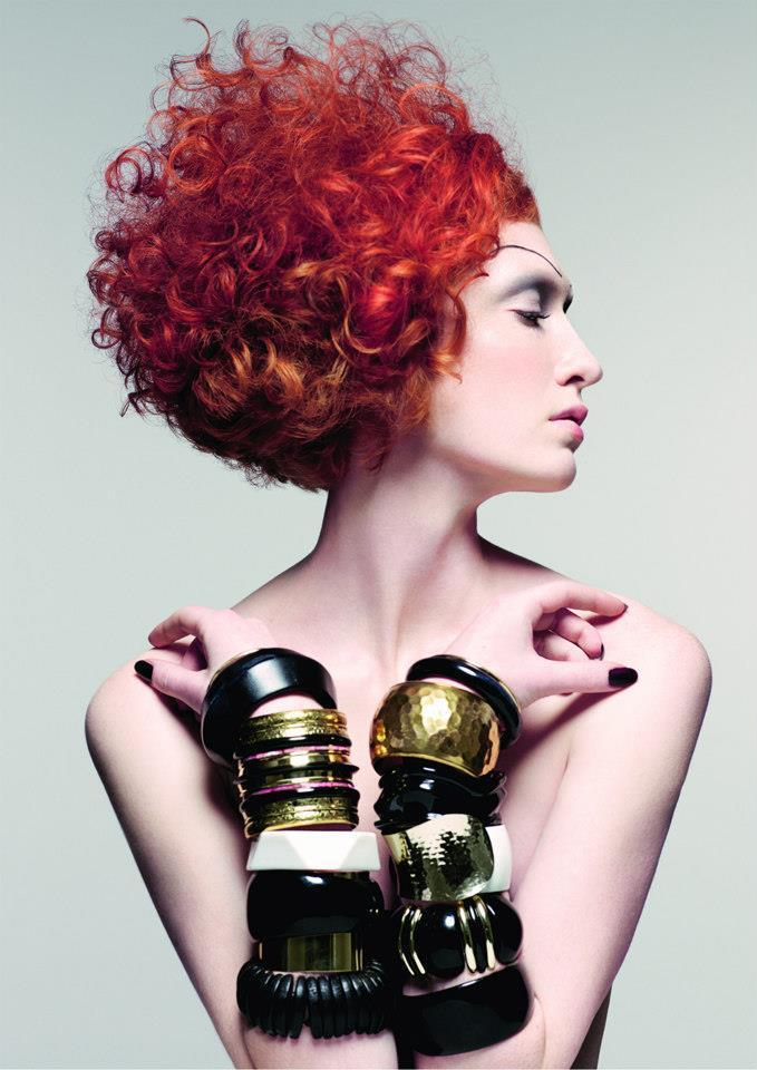 Loki włosy rude