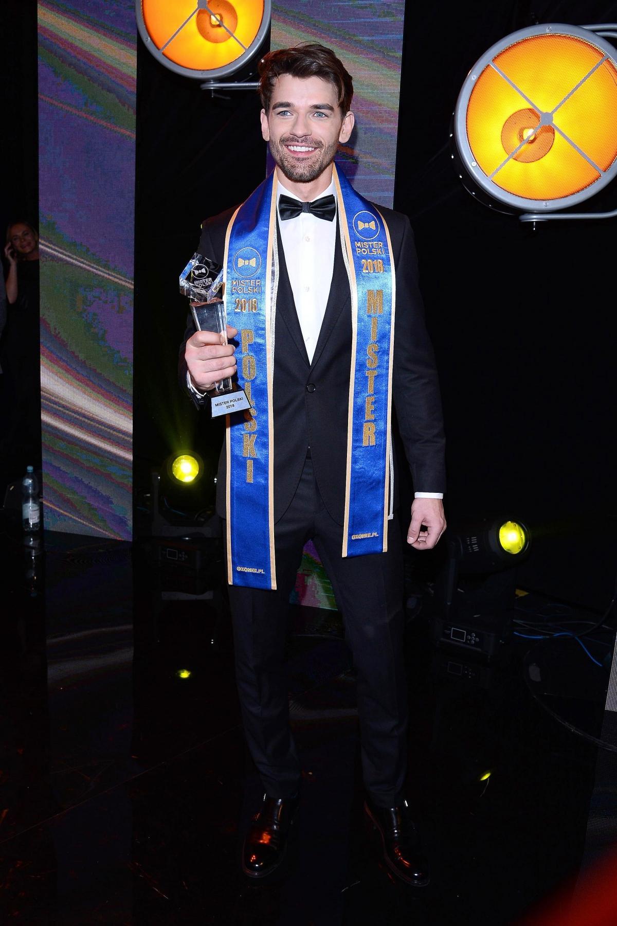 Tomasz Zarzycki - Mister Polski 2018