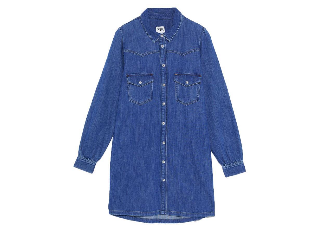Sukienka dżinsowa, Zara, cena ok. 139,00 zł