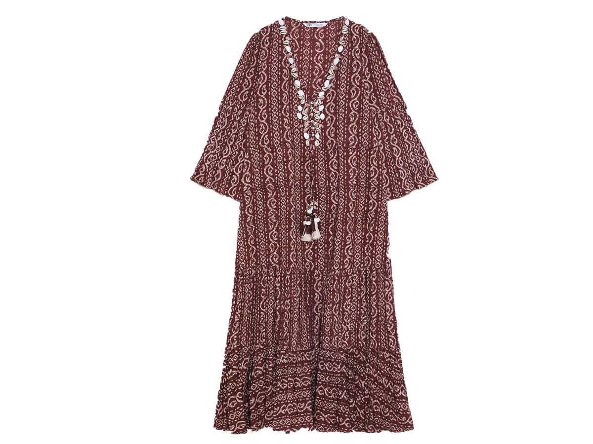 Sukienka w stylu boho, Zara, cena ok. 249,00 zł