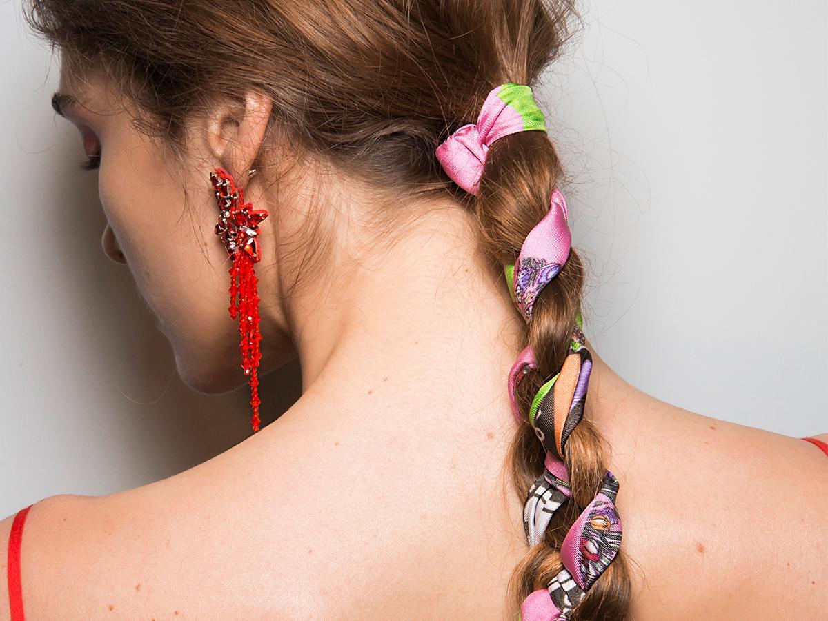 Ozdoby do włosów - apaszki