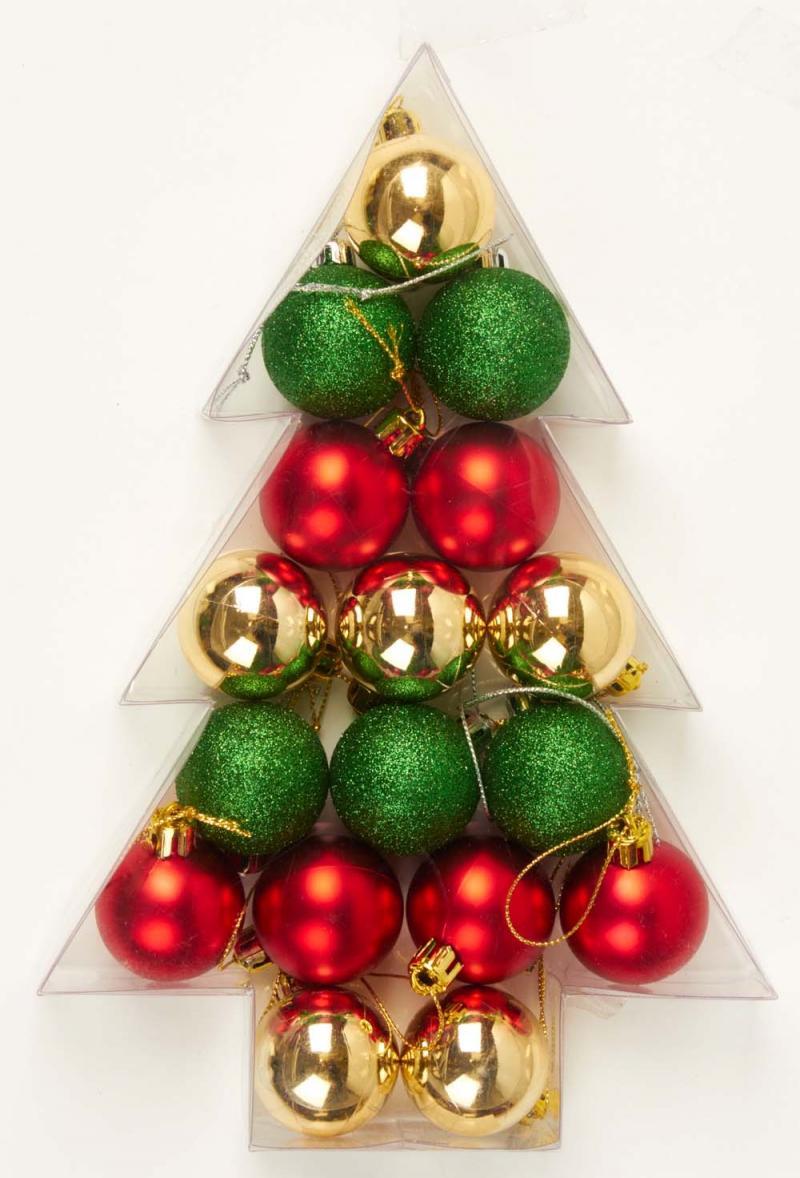 Ozdoby świąteczne: Bombki F&F Home, Tesco
