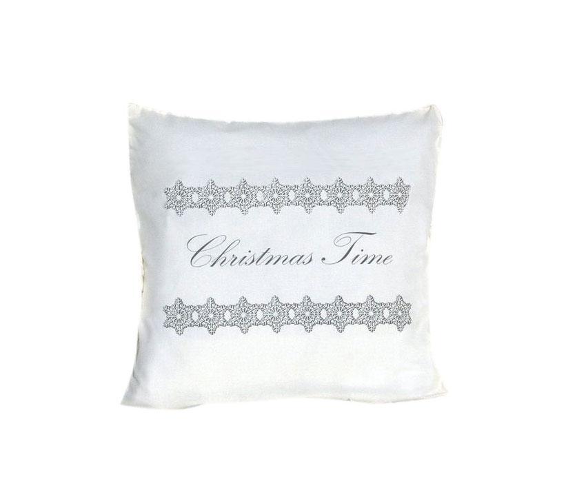 Ozdoby świąteczne: świąteczna poduszka La Petite Maison