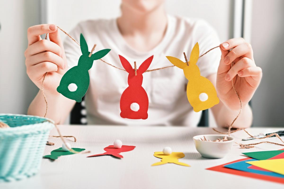 ozdoby na Wielkanoc z papieru