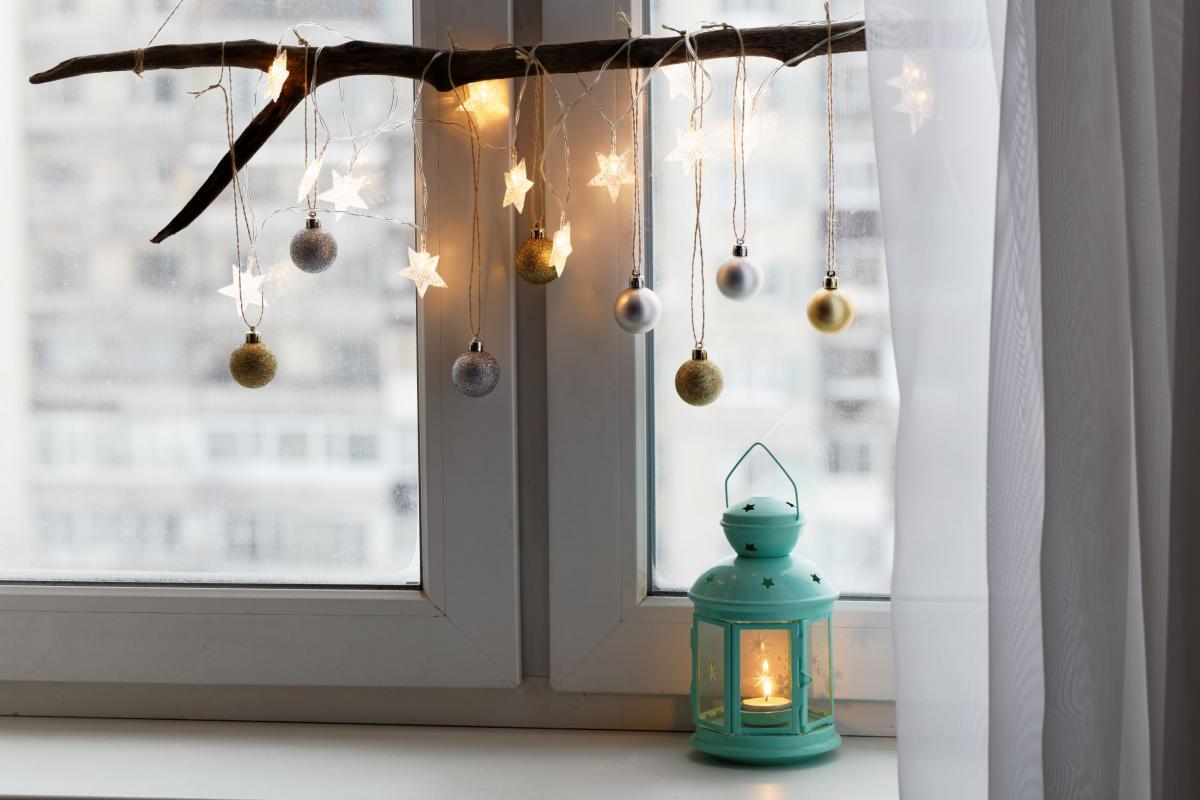Ozdoby świąteczne - dekoracje na okno