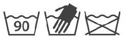 oznaczenia na metkach - pranie