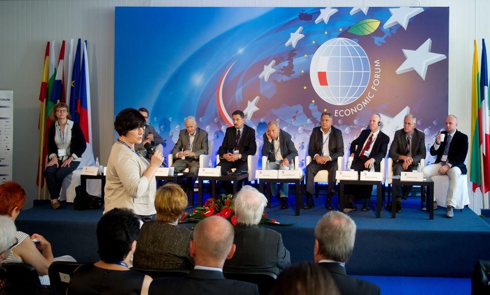 Panel Novartis/fot. Vision Group