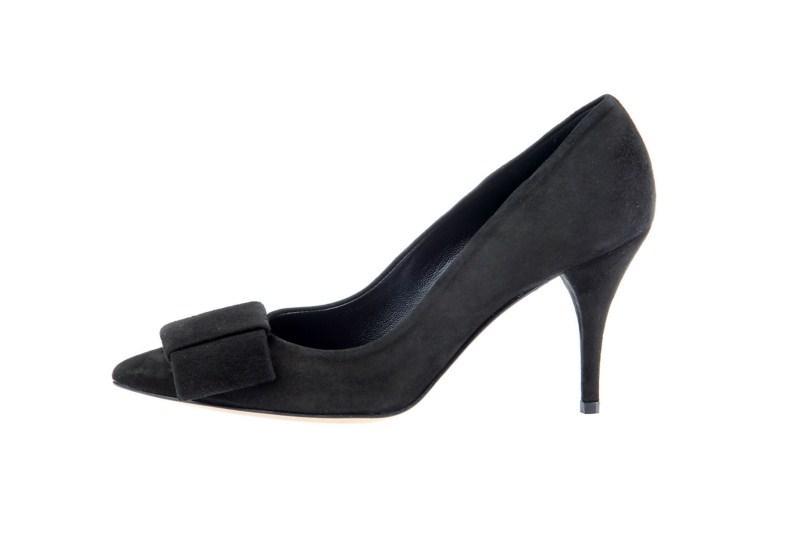 czarne pantofle Prima Moda - wiosna 2011