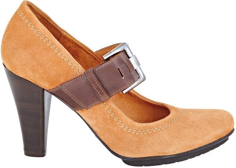 brązowe pantofle Wojas - moda 2011