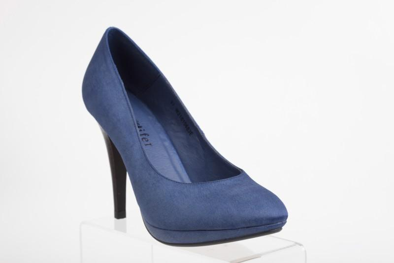 niebieskie pantofle CCC - z kolekcji wiosna-lato 2011