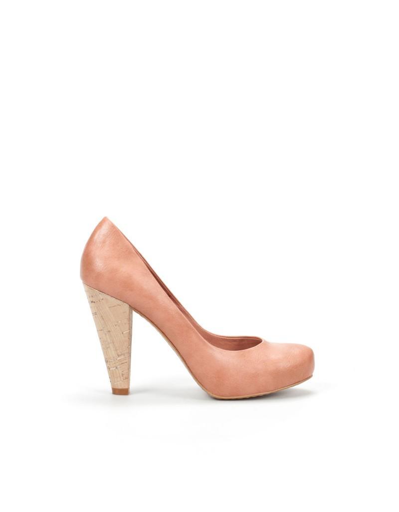 brązowe pantofle ZARA - moda wiosna/lato