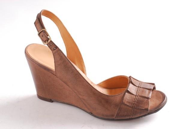 brązowe pantofle Ryłko - wiosna/lato 2011