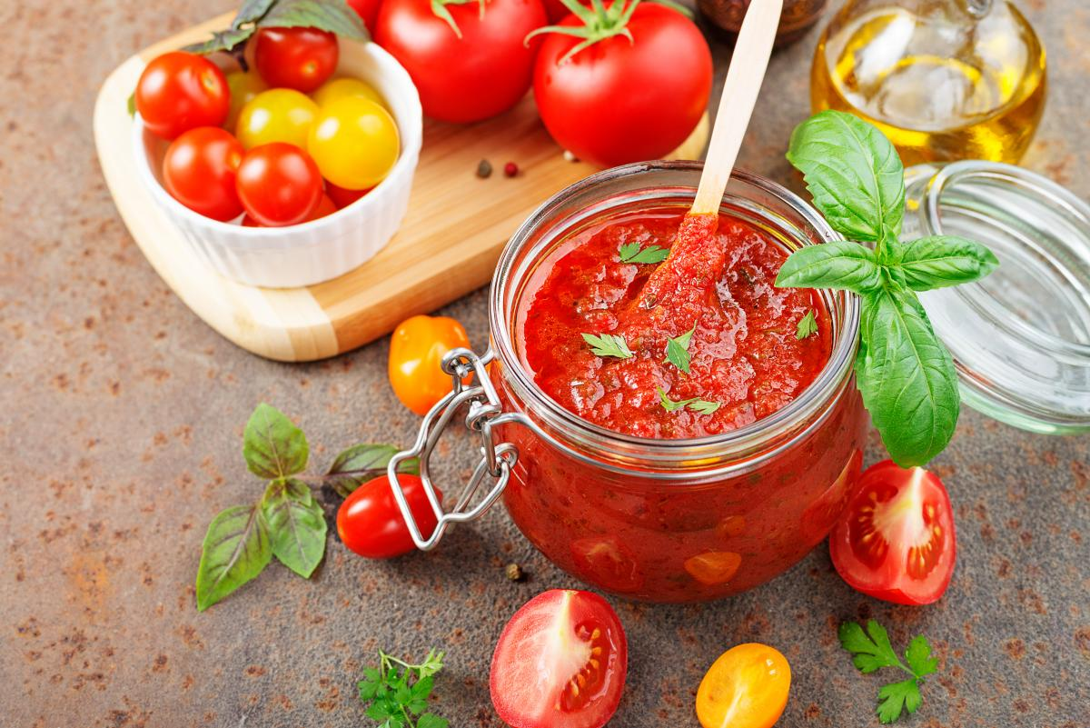 Passata z pomidorków koktajlowych