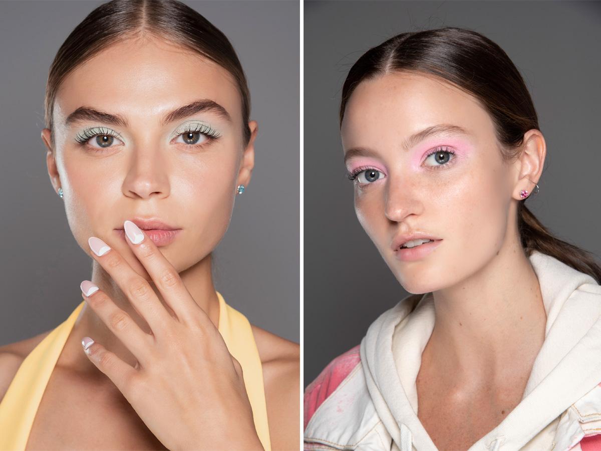 Modny makijaż 2020 pastele
