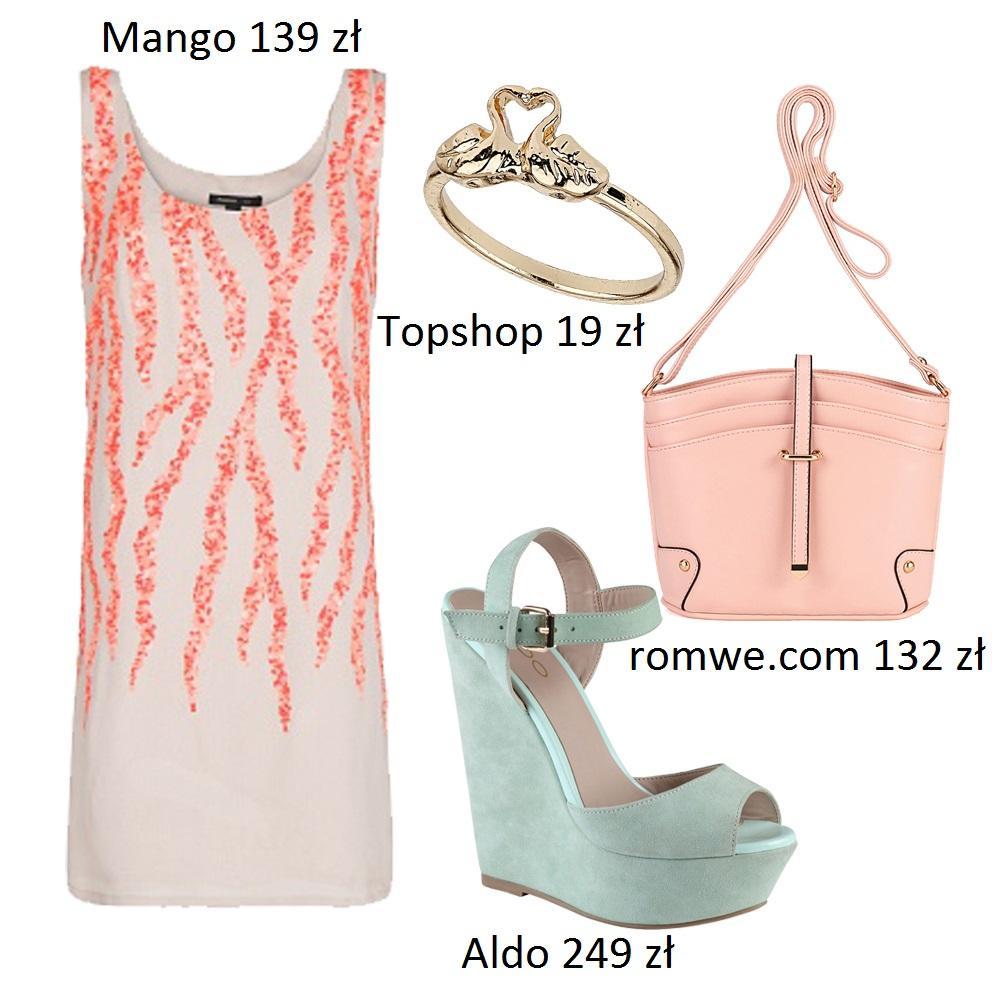 Pastelowe, lekkie i zwiewne sukienki - z czym nosić?