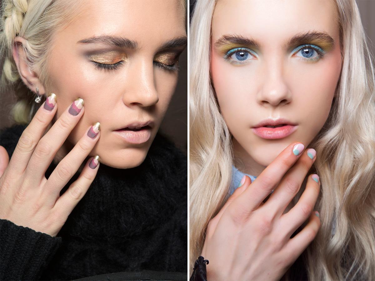 Pastelowe paznokcie modne wzory