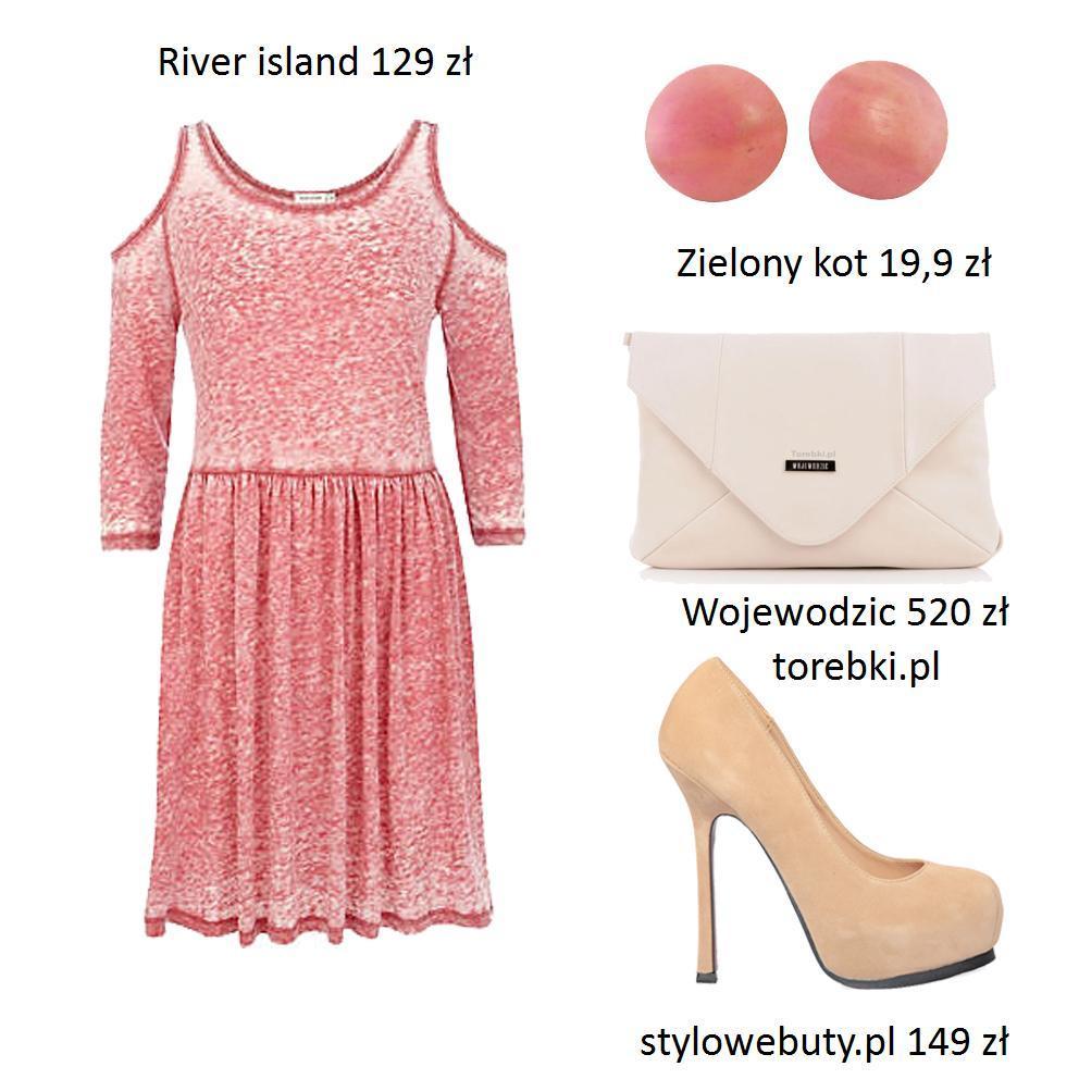 Pastelowe sukienki - stylizacje