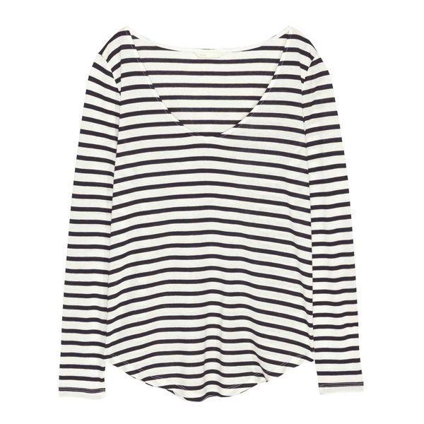 Bluzka w paski H&M, cena
