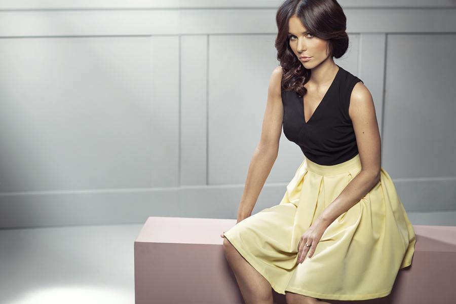 Paulina Sykut-Jeżyna w kampanii Nife wiosna-lato 2014