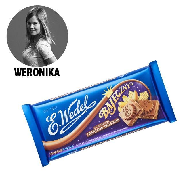 Wielka czekolada mleczna Bajeczny, Wedel - cena ok. 10 zł