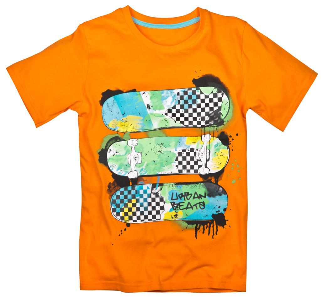 2aea2ff222a276 pomarańczowy t-shirt Pepco - PEPCO - najnowsza kolekcja - Trendy ...